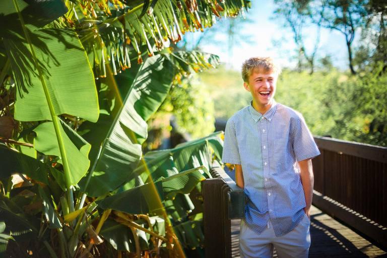 senior portrait on the big island of hawaii